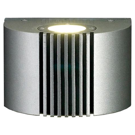 Silver Wall Lights Led S30 Silver Wall Light