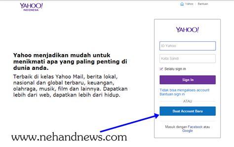 cara membuat email yahoo singkat cara membuat email yahoo ne hand rangkuman berita online