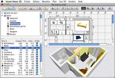Home Design 3d Jouer | sweet home 3d logiciel de d 233 coration pour mac