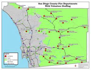 Map San Diego County by Where Are The Fires In San Diego County Map