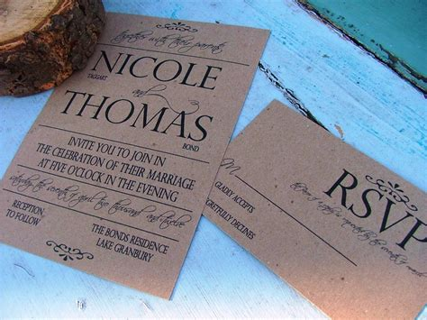 easy wedding invitations wedding invitations simple and bold come by sweetinvitationco