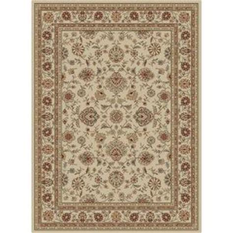 area rugs 5x7 home depot tayse rugs elegance ivory 5 ft x 7 ft traditional area rug 5142 ivory 5x7 the home depot