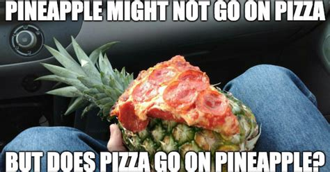 Ananas Pineapple Meme - meme vs meme pineapple pizza