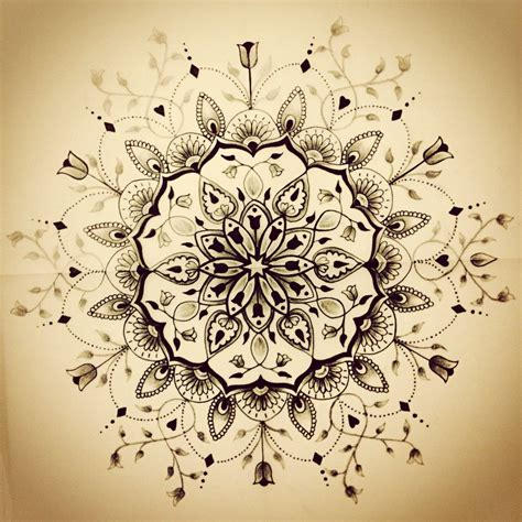 mandala tattoo by jaigilchrist on deviantart