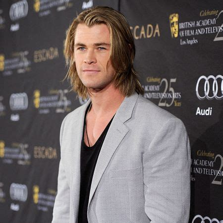 boys with long chin brazilian keratin hemsworth and celebrities hair on pinterest
