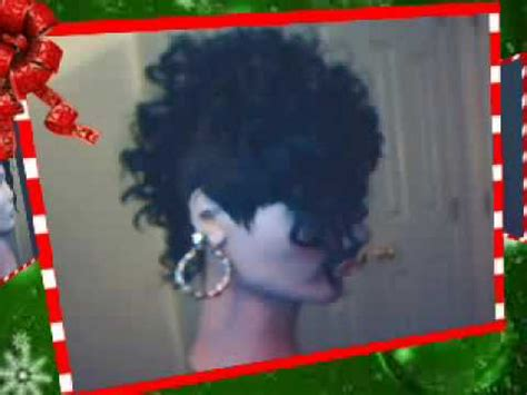 27pc mohawk deep wave hair with a mohawk short hairstyle 2013