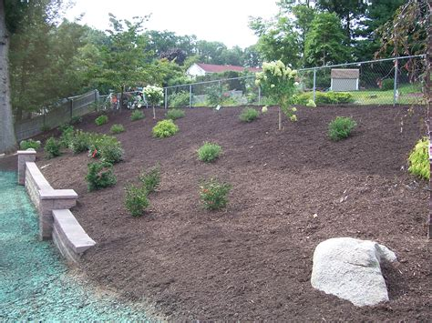 backyard hillside landscaping backyard hillside garden country landscaping llc