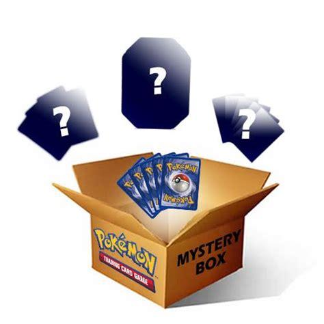 ebay mystery box pokemon mystery box x1 ebay