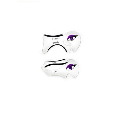 Cat Eye Makeup Printable Stencil