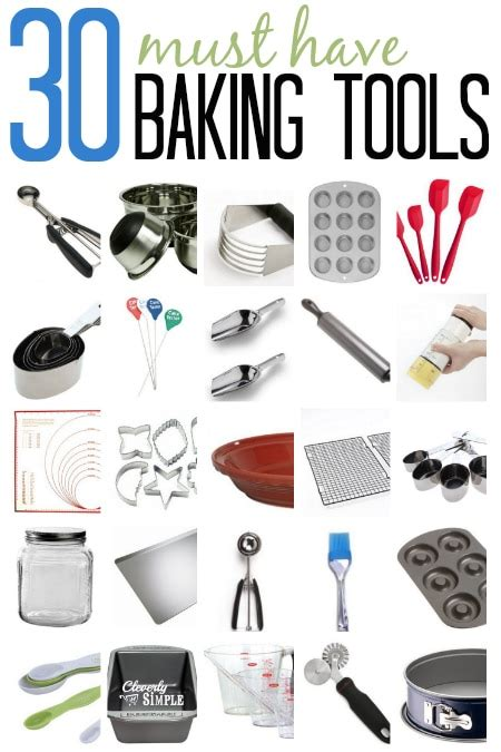 must have kitchen items list baking equipment and tools my 30 favorite simple recipes diy tutorials farmhouse
