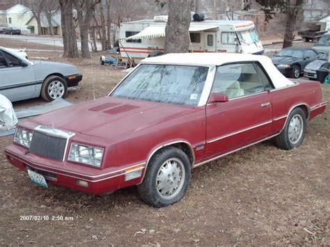 84 Chrysler Lebaron by Taterdog 1984 Chrysler Lebaron Specs Photos Modification
