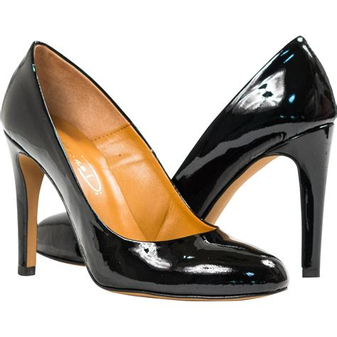 Patent Pumps verna black patent leather toe classic pumps paolo