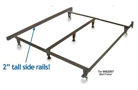 standard metal bed frame heavy duty metal bed frame universal size