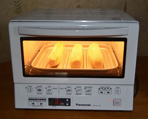 Toaster Oven Instead Of Microwave panasonic flashxpress toaster oven review