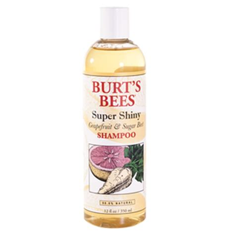 Burts Bees Grapefruit And Sugar Beet Shoo by Burt S Bees Shiny Grapefruit Sugar Beet Shoo