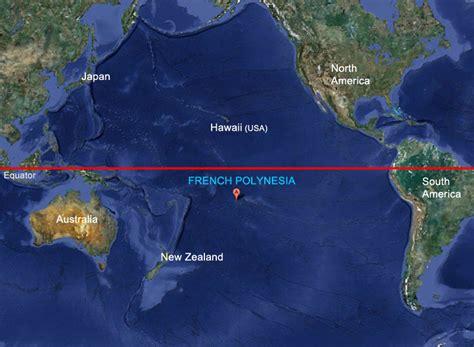 polynesia on the world map where is bora bora the polynesian island in the