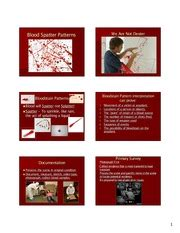 bloodstain pattern analysis research reliability level of error research acceptability