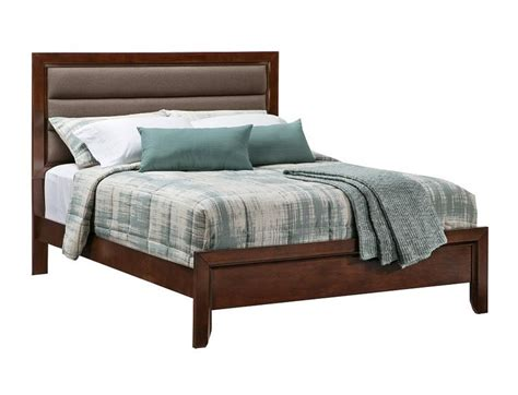 slumberland diego collection midnight queen bed slumberland marabela collection cherry queen bedstead