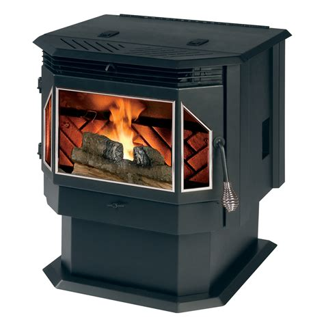 Summers Plumbing Heating And Cooling Reviews by Shop Summers Heat 2 000 Sq Ft Pellet Stove At Lowes