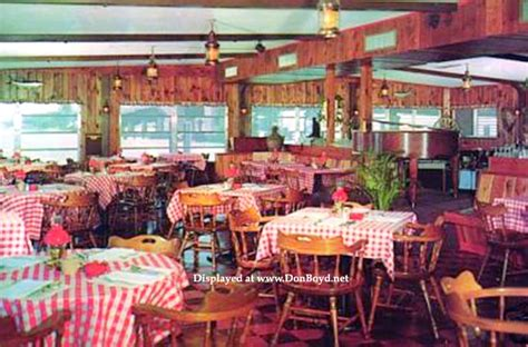 1960 s one of the dining rooms at mike gordon s seafood