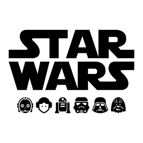 imagenes en png de star wars vinilo decorativo star wars iv