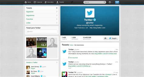 Imagenes Para Perfil Twitter | 24 dise 241 os bonitos y originales del nuevo perfil de twitter