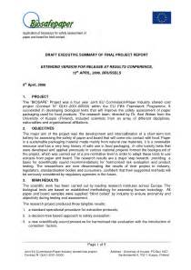 executive summary template for a project best photos of executive project summary report project