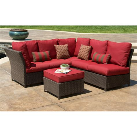 rushreed 3 piece outdoor sectional better homes and gardens rushreed 3 piece outdoor