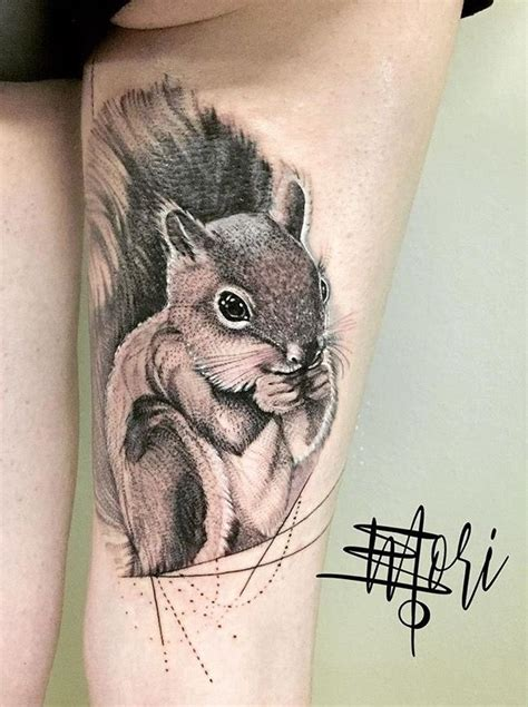 squirrel tattoos best 25 squirrel ideas on animal