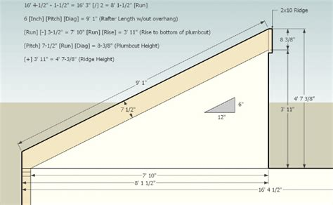 Hip Roof To Gable Conversion Roof Pitch Chart Nip