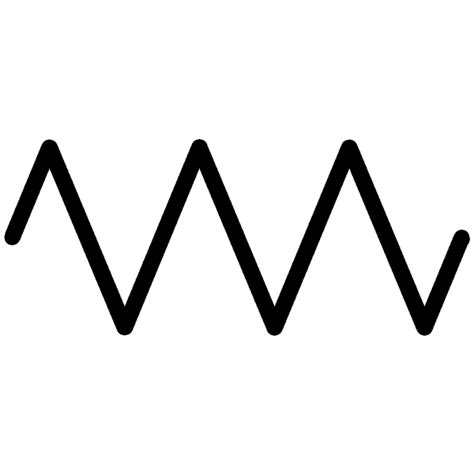 what is the symbol used for a resistor in a circuit image gallery resistor symbol