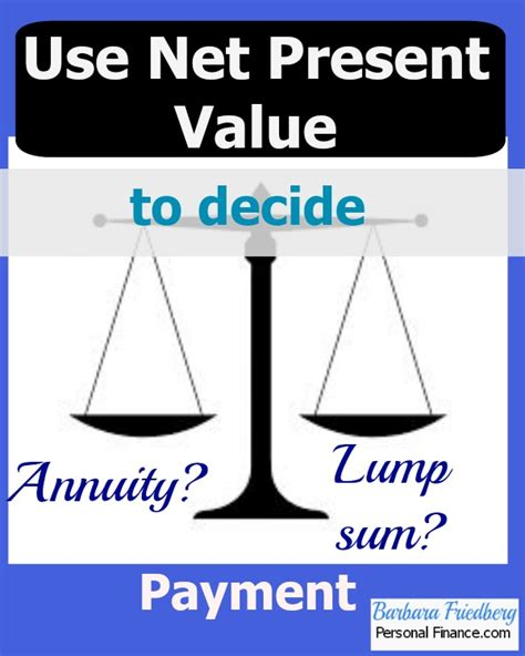 Net Present Value Mba Math by Use Net Present Value To Make Investment Decisions
