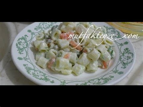 makarna salatas tarifi nasl yaplr yemekcom makarna salatası nasıl yapılır doovi