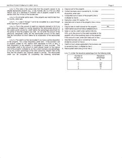 irc section 168 form n 312 ins instructions for forms n 312