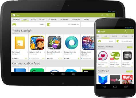 play store new redesigned play with new look android news