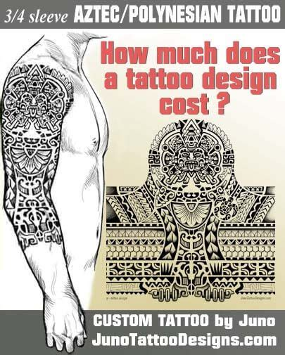 how much do tribal tattoos cost best 25 aztec designs ideas on aztec