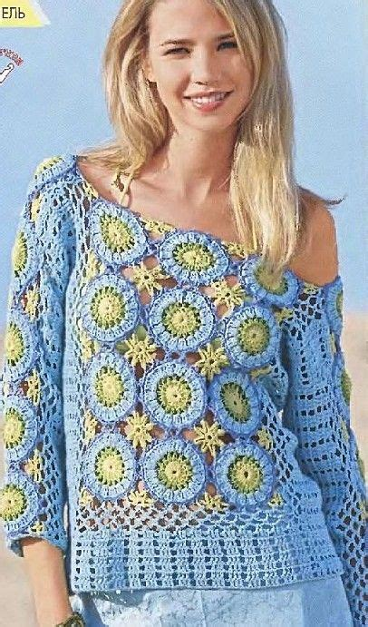 Dijamin Hem Tunik Onde Combi 17 best images about crochet tops on sleeve japanese patterns and crochet tunic