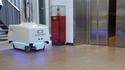 uv light in hospitals this disinfection robot can light the way to cleaner