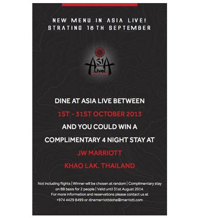 Asia Same But Different by Same Same But Different New Asia Live Menu Marhaba