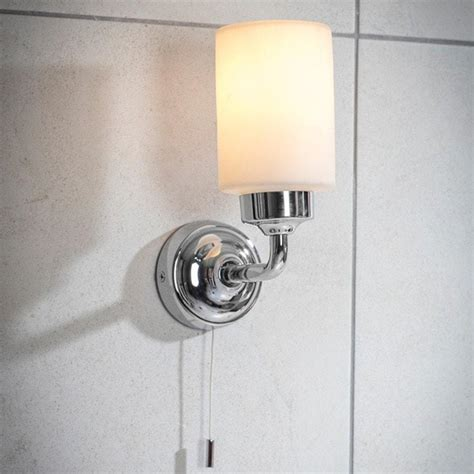 Pull Cords For Bathroom Lights Chic Greenwich Bathroom Wall Light In Chrome Pull Cord Farthing The Farthing
