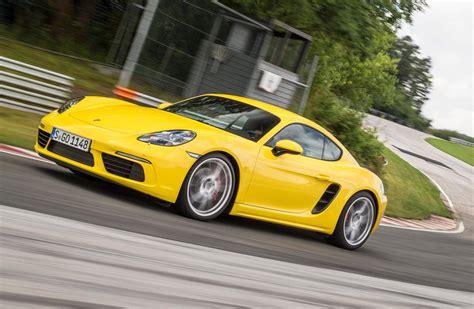 Porsche 718 Cayman by Llegaron Los Nuevos Porsche 718 Boxster Y Cayman Mega Autos