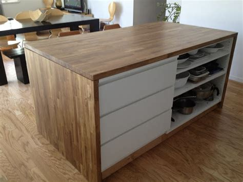 Diy Ikea Kitchen Island 30 Ikea Malm Dresser Hacks