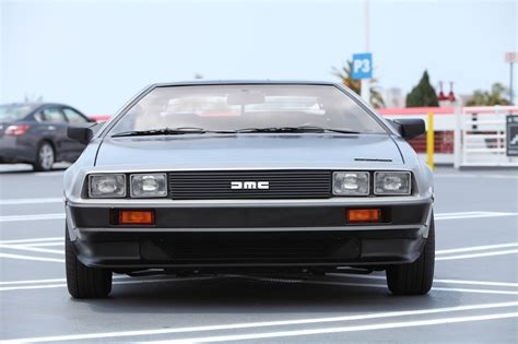 delorean front a perfectly restored delorean dmc 12 could be yours