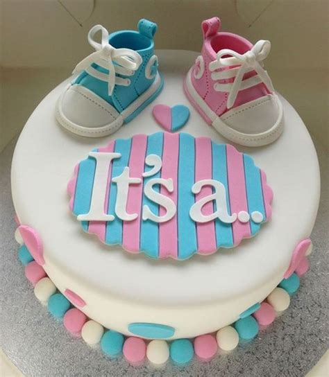 gender reveal baby shower these gender reveal cakes are a delicious way to