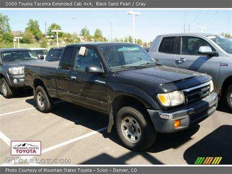 2000 Toyota Tacoma 4x4 Black Sand Pearl 2000 Toyota Tacoma Extended Cab 4x4