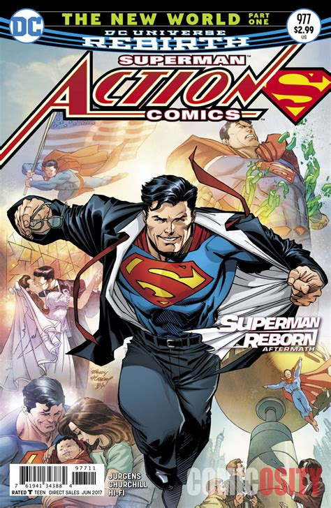 superman reborn action comics b0756pb11j action comics 977 explores the aftermath of superman reborn check out a preview here