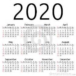 vector calendar 2020 sunday stock vector image 62409062