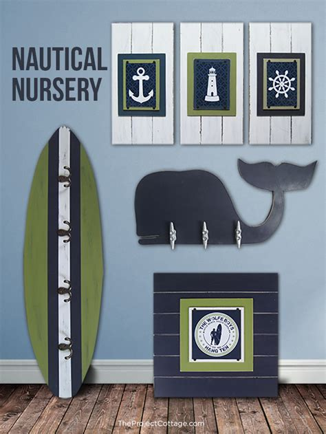Nautical Decor Nursery Giveaway 150 Shopping Spree To The Project Cottage Project Nursery