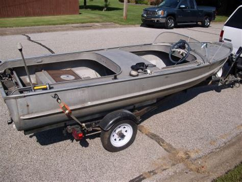 fishing boats for sale vernon 1955 alumacraft merry m 14 power boat for sale in mount