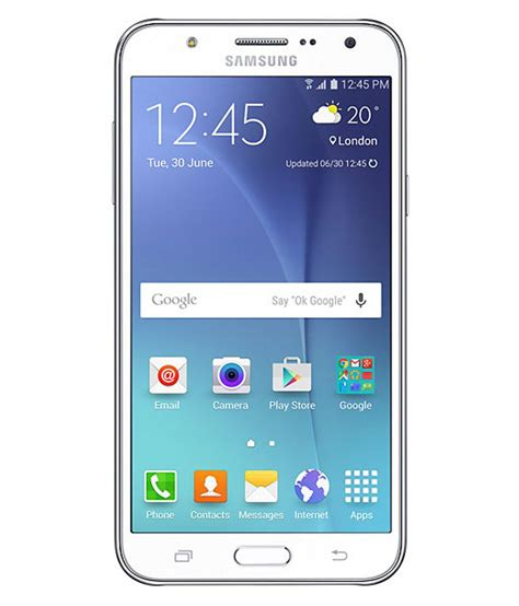 Samsung J5 Yang 16gb samsung j700 16gb ceramic white mobile phones at low prices snapdeal india